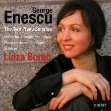George Enescu (1881-1955): Klaviersonaten op.24 Nr.1 & 3, 2 Super Audio CDs