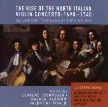 The Rise of the North Italian Violin Concerto Vol.1, CD