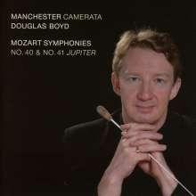 Wolfgang Amadeus Mozart (1756-1791): Symphonien Nr.40 & 41, CD