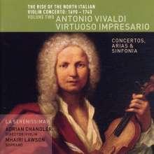 The Rise of the North Italian Violin Concerto Vol.2, CD
