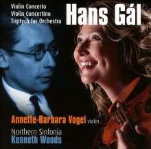 Hans Gal (1890-1987): Violinkonzert op.39, CD