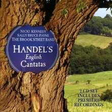 Georg Friedrich Händel (1685-1759): Englische Kantaten & Lieder, 2 CDs