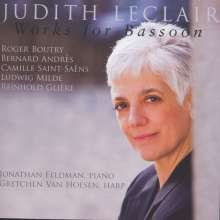 Judith Le Clair - Works for Bassoon, CD