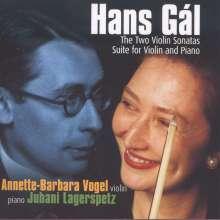 Hans Gal (1890-1987): Sonate für Violine & Klavier op.17, CD
