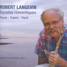 Robert Langevin - Sonates romantiques, CD