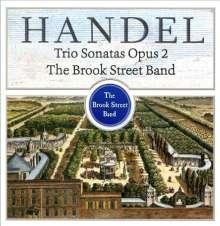 Georg Friedrich Händel (1685-1759): Triosonaten op.2 Nr.1-6, CD