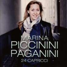 Niccolo Paganini (1782-1840): Capricen op.1 Nr.1-24 für Flöte solo, 2 CDs