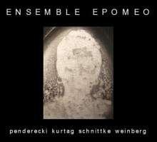 Ensemble Epomeo - Schnittke / Weinberg / Kurtag / Penderecki, CD
