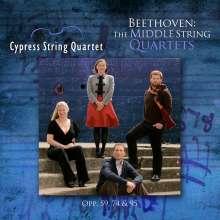 Ludwig van Beethoven (1770-1827): Streichquartette Nr.7-11, 3 CDs
