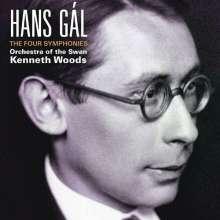 Hans Gal (1890-1987): Symphonien Nr. 1-4, 2 CDs