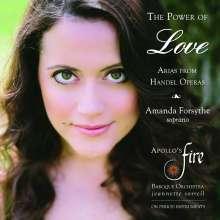 Georg Friedrich Händel (1685-1759): Arien - The Power of Love, CD