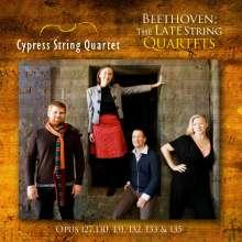 Ludwig van Beethoven (1770-1827): Streichquartette Nr.12-16, 3 CDs