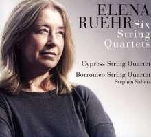 Elena Ruehr (geb. 1963): Streichquartette Nr.1-6, 2 CDs
