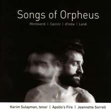 Karim Sulayman - Songs of Orpheus, CD