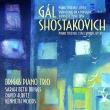 Hans Gal (1890-1987): Klaviertrio op.18, CD