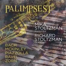 """Richard Stoltzman - Werke für Klarinette & Marimba """"Palimpsest"""", CD"""