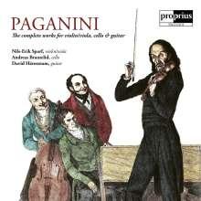 Niccolo Paganini (1782-1840): Werke für Violine/Viola, Cello & Gitarre, CD