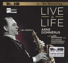 Arne Domnerus (1924-2008): Live Is Life (Limited-Edition), CD