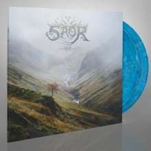 Saor: Aura (remastered) (Limited Edition) (Blue, White & Black Mixed Vinyl), 2 LPs