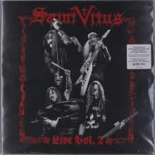 Saint Vitus: Live Vol. 2 (Limited Numbered Edition) (Red Vinyl), 2 LPs