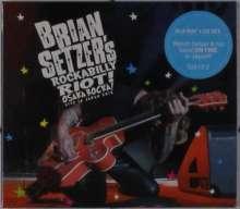 Brian Setzer: Rockabilly Riot! Osaka Rocka! - Live In Japan 2016, 1 CD und 1 Blu-ray Disc