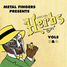 MF Doom: Special Herbs Vol. 3 & 4, CD