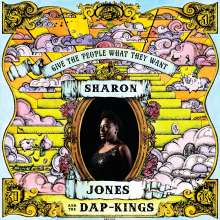 Sharon Jones & The Dap-Kings: Give The People What They Want, LP