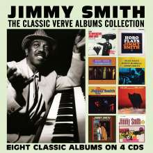 Jimmy Smith (Organ) (1928-2005): The Classic Verve Albums Collection, 4 CDs