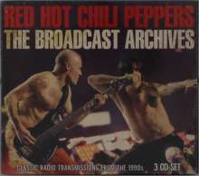 Red Hot Chili Peppers: Classic Radio Transmissions From The 1990s, 3 CDs