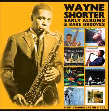 Wayne Shorter (geb. 1933): Early Albums & Rare Grooves, 4 CDs
