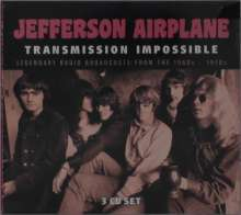 Jefferson Airplane: Transmission Impossible: Legendary Radio Broadcasts From The 1960s - 1970s, 3 CDs