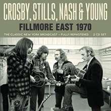 Crosby, Stills, Nash & Young: Fillmore East Radio Broadcast 1970, 2 CDs