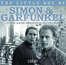 Simon & Garfunkel: The Little Box Of Simon & Garfunkel: Classic Radio Broadcast Recordings 1967 - 1993, 3 CDs