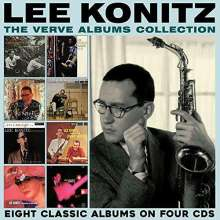Lee Konitz (geb. 1927): The Verve Albums Collection, 4 CDs