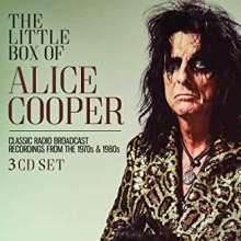 Alice Cooper: The Little Box Of Alice Cooper: Classic Radio Broadcast Recordings, 3 CDs