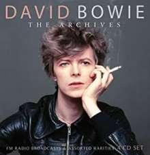 David Bowie (1947-2016): The Archives Radio Broadcast Tokyo 1978 & Montreal 1983, 4 CDs