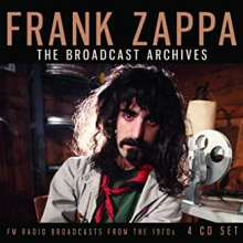 Frank Zappa (1940-1993): The Broadcast Archives: FM Radio Broadcasts From The 1970s, 4 CDs