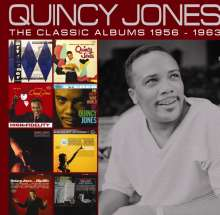 Quincy Jones (geb. 1933): The Classic Albums 1956 - 1963, 4 CDs