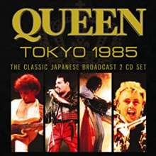 Queen: The Classic Japanese Radio Broadcast Tokyo 1985, 2 CDs