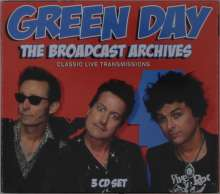 Green Day: The Broadcast Archives: Classic Live Transmissions, 3 CDs