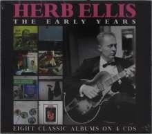 Herb Ellis (1921-2010): The Early Years, 4 CDs