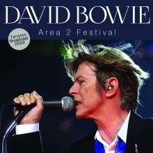 David Bowie (1947-2016): Area 2 Festival Radio Broadcast Toronto 2002, CD