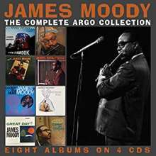James Moody (1925-2010): Complete Argo Collection, 4 CDs