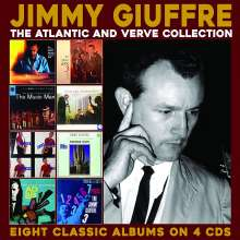 Jimmy Giuffre (1921-2008): The Atlantic And Verve Collection, 4 CDs