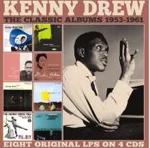 Kenny Drew (1928-1993): Classic Albums 1953-1961, 4 CDs