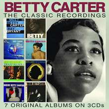 Betty Carter (1930-1998): The Classic Recordings, 3 CDs