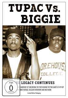 Tupac Vs Biggie: The Legacy Continues, 2 DVDs