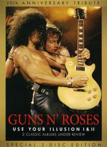 Guns N' Roses: Use Your Illusion I & II, 2 DVDs