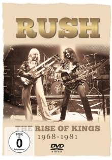 Rush: The Rise Of Kings 1968 - 1981, DVD
