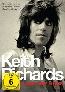 Keith Richards: The Long Way Home, 2 DVDs